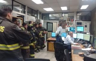Capacitación a bomberos